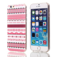 Pink Striped TPU Case For Apple iPhone 6 6S