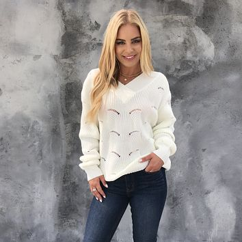 Sweet Snow Knit Sweater