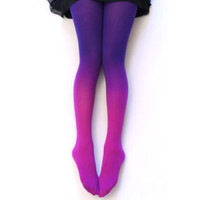 Ombre Pink Tights