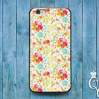 Floral Vintage Cute Flower Pattern Phone Case Cover iPod iPhone 4 4s 5 5s 5c 6 +
