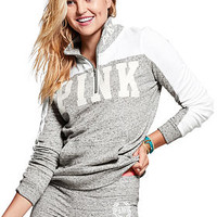 Perfect Quarter-Zip - PINK - Victoria's Secret