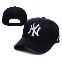 Perfect NY Women Men Embroidery Sport Cap Sunshade Baseball Hat Cap