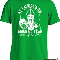 St Patricks Day Shirts St Paddys Day Drinking Team Shirt Funny Drinking Shirts St Patricks Day Gifts St Pattys Day Shirts Mens Tee MD-406