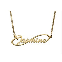 Infinity Name Necklace - Gold