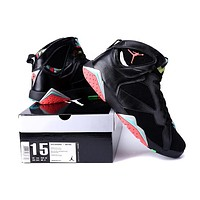 Big Size To Special You! Nike Air Jordan 7 Retro Aj7 Black/colorful Size Us 14 15 16 - Beauty Ticks