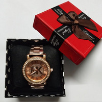 MK Stylish Fashion Designer Watch ON SALE With Thanksgiving&Christmas Gift Box