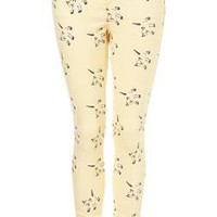 **Cat Print Jeans by J.W. Anderson for Topshop - Jeans - Clothing - Topshop USA