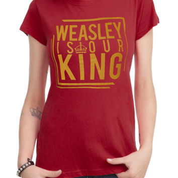 Harry Potter Weasley Is Our King Girls T-Shirt