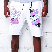 Team Finesse Terry Shorts Bright