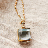 Glass Locket Necklace