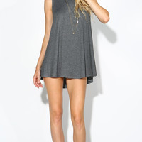 FULL SWING TANK DRESS - GREY
