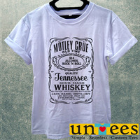 Low Price Women's Adult T-Shirt - Motley Crue design