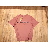BURBERRY Women Simple T-shirt