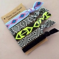 The Alana Elastic Hair Tie Ponytail Holder Collection by Elastic Hair Bandz