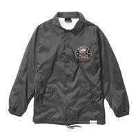 Diamond Supply Co. - Kings Crest Coach's Jacket - Charcoal
