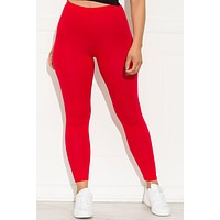 Go On  Leggings Red