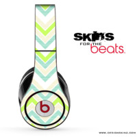 Green Multiple Chevron Skin for the Beats by Dre
