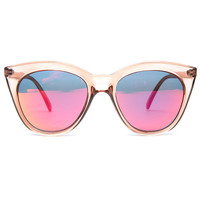 Le Specs Sunglasses Halfmoon Magic in Tan