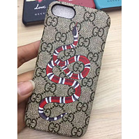 GG Fashion Snake Print iPhone Phone Cover Case For iphone 7 7plus 8 8plus X XR XS MAX 11 Pro Max 12 Mini 12 Pro Max