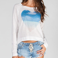 Rip Curl Float Womens Tee White  In Sizes