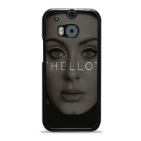 Hello Adele Potrait Face Actress HTC One M8 Cases