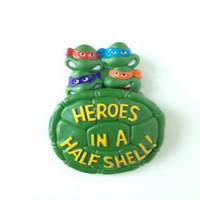 Vintage Teenage Mutant Ninja Turtles Burger King Toy Collectible