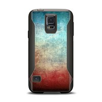 The Faded Grunge Color Surface Extract Samsung Galaxy S5 Otterbox Commuter Case Skin Set