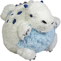 Mini Squishable Ice Dragon: An Adorable Fuzzy Plush to Snurfle and Squeeze!