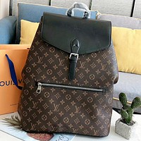 Hipgirls Louis vuitton LV New fashion monogram book bag backpack bag handbag