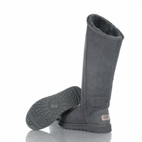 Ugg 5768 Jimmy Choo Starlit Tall Boots Gray Outlet UK