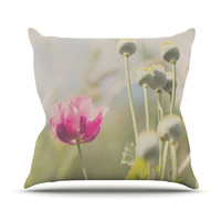 """Laura Evans """"Looking Up"""" Throw Pillow, 18"""" x 18"""" - Outlet Item"""