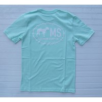 Southern Point Co - State Line Tee - Mississippi