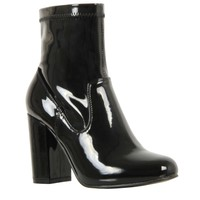 Simmi Shoes: Boots: : Audrey Block Heel Ankle Boots
