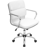 Bachelor Office Chair, White