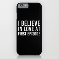 LOVE AT FIRST EPISODE iPhone & iPod Case by The Fandom Designs