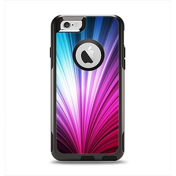The Swirly HD Pink & Blue Lines Apple iPhone 6 Otterbox Commuter Case Skin Set