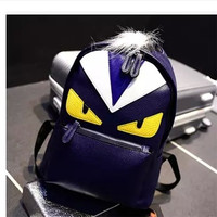 The sale activities limited boys and s little monsters han edition cartoon splicing backpack backpack
