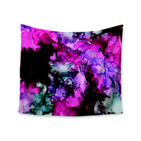 """Claire Day """"Siren"""" Pink Purple Wall Tapestry"""