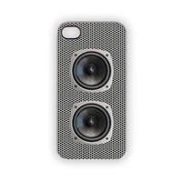 Speaker iPhone Case, Speaker Case, Music, Industrial, Rock & Roll, Techno, Edgy, Hip Hop, Glee, Choir, Band, Pop, iPhone 5, iPhone 4S/4