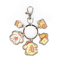 Purin Keyring: Five's a Charm