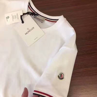 """MONCLER"" Fashhion Casual Short Sleeve Shirt  Tee Top 4 Color G-A-GHSY"