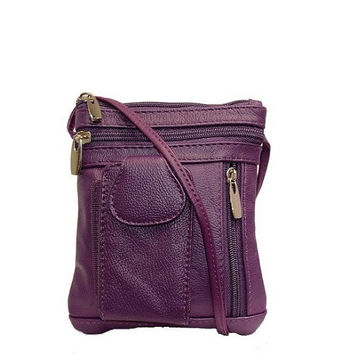 Cute Cross Body Leather Bag Walt Mini