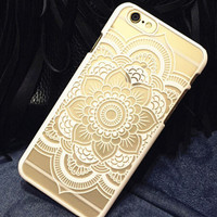 Hollow Out Lace iphone 5s 6 6s Plus Case Cover