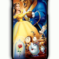 iPhone 6S Plus Case - Hard (PC) Cover with Beauty and the Beast 2 Plastic Case Design