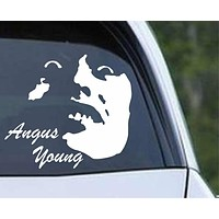 AC/DC Angus Young Die Cut Vinyl Decal Sticker