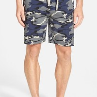 Men's Majestic International 'Camo Land' Cotton Lounge Shorts,