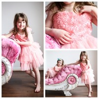 Blushing Floral Party Dress - Ryleigh Rue Clothing by MVB