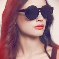Black Round Sunglasses - Hipster from SHEVAMPS
