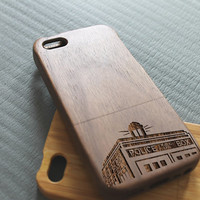 Walnut wood iphone 5 case iphone 5s case doctor who iphone 5 case
