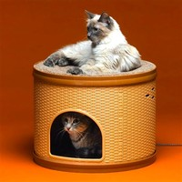 SheilaShrubs.com: Heated Pet Hutch ALLIEDPR11PH by Allied Precision : Pet Furniture & Equipment